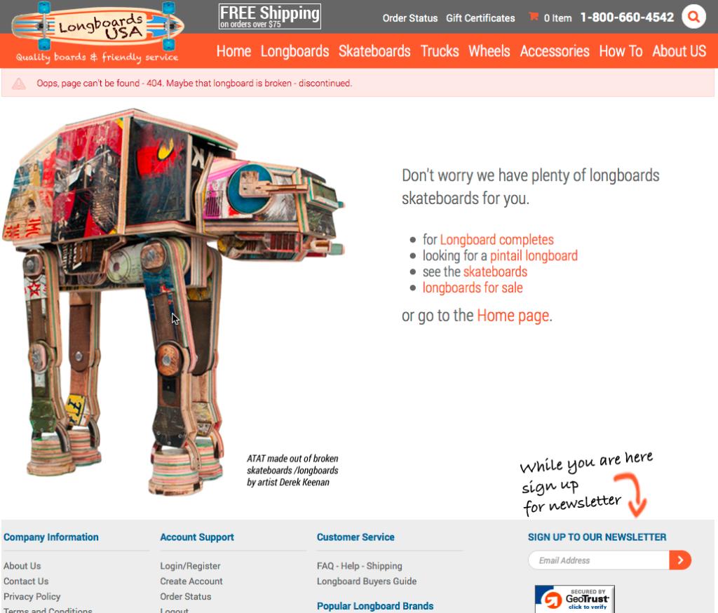ATAT 404 page longboardsusa
